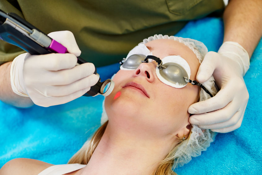 Q-Switched Nd: Yag Laser Skin Rejuvenation