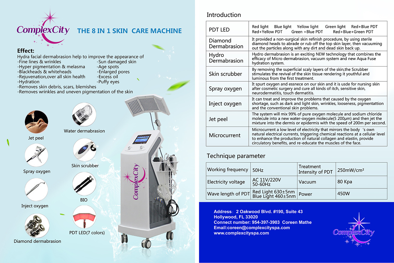 Jet Clear and PDT Machine 2
